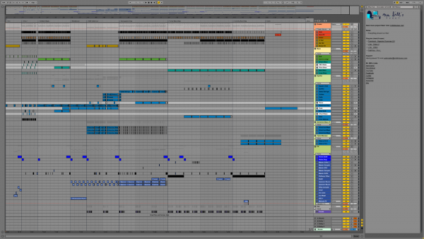 Mr. Bill - Meat Axe - Chocolate Grind (Mr. Bill Remix) - Project File Screenshot