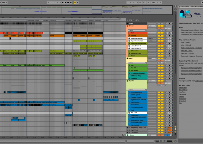 Mr. Bill - Tonic (Mr. Bill Rmx) - Project File Screenshot