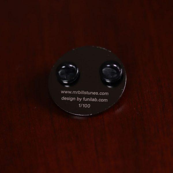 Mr. Bill - Round Pin (Gun Metal)