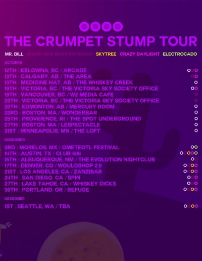 Mr. Bill - The Crumpet Stump Tour 2012