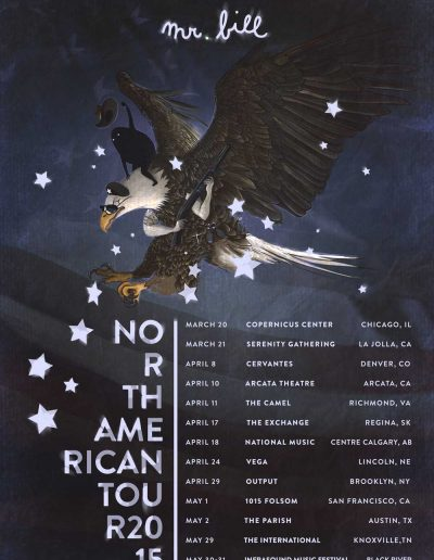 Mr. Bill - North America Tour 2015
