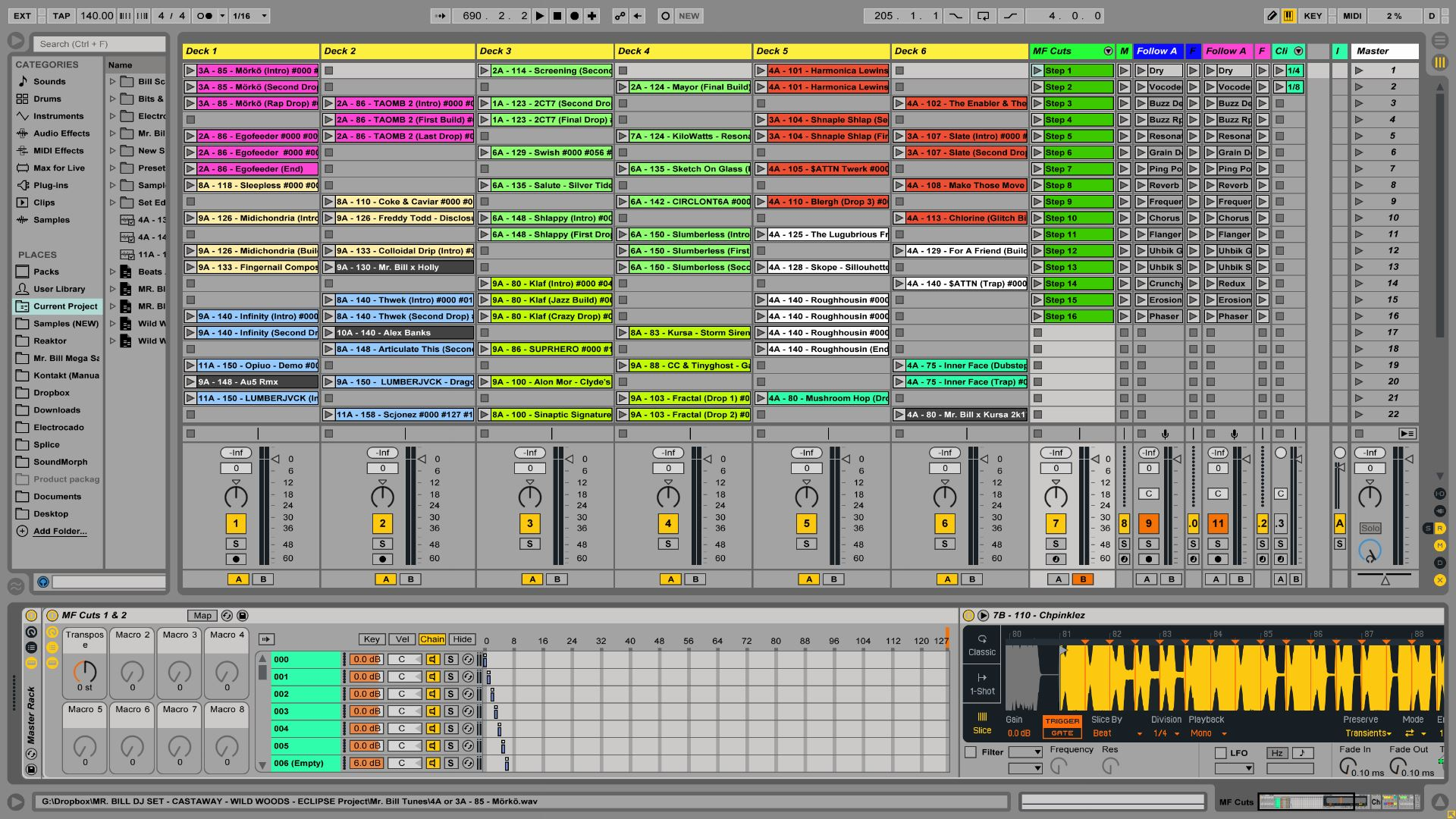 Mr. Bill\'s Ultimate MIDI Masher - Ableton Live Set Template | Mr ...